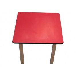 Kids Pre School Square table-BLUE