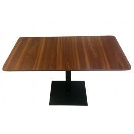 Bistro Pedestal table Plinth Laminated