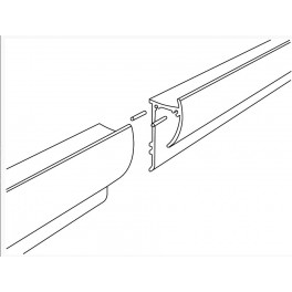 Connecting paper Rail Pins