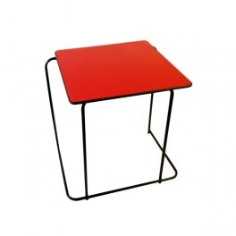 Stacking Exam Desk-Red