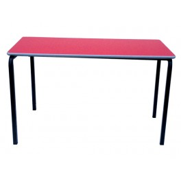 Stacking Rectangular Table -Red