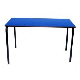 Stacking Rectangular Table -Blue