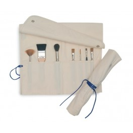 Canvas Brush Roll Case