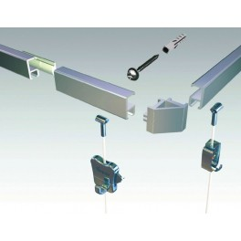 Smart Mini Straight Clip Rail connector - IMPSUK
