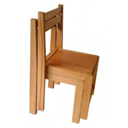 Kids Stacking beech wood Chairi