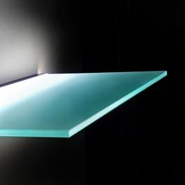 Lighting Glass Shelf