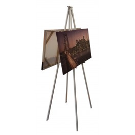 Back to Back Metal Easel