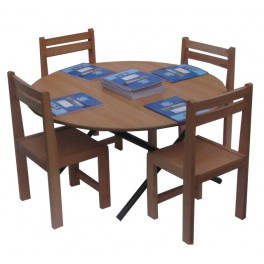 Kids preschool classroom folding table