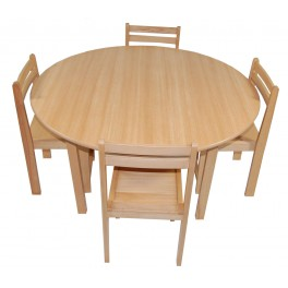Activity Table and Chairs Beech