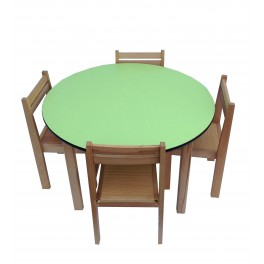 Activity Table and ChairsLime Green