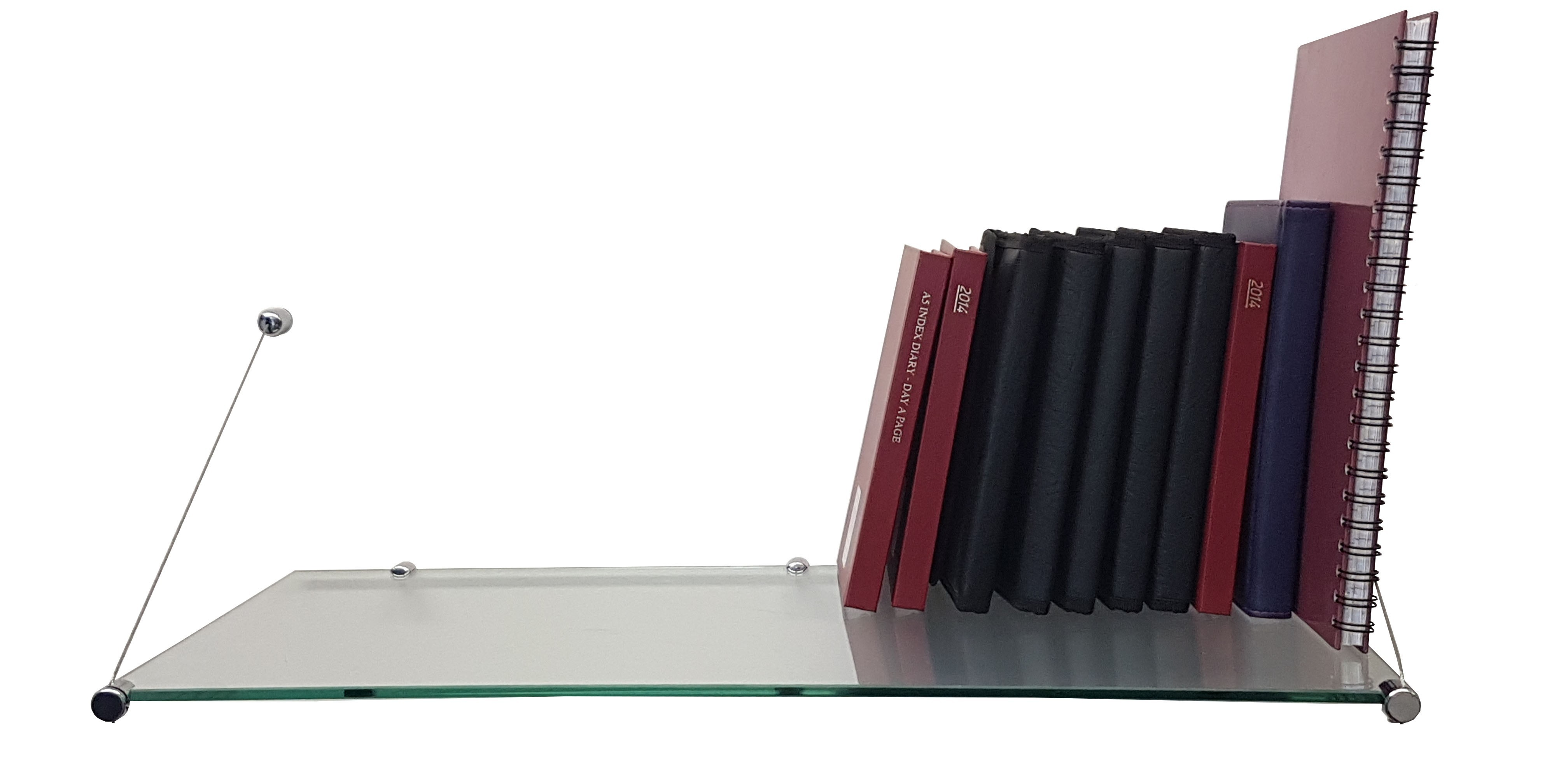 Book Glass Shelves